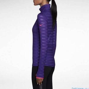 Nike Pro Dri-Fit Hyperwarm Half Zip Pullover